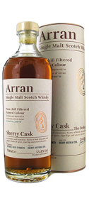 Arran the Bodega Quarter Cask 55.8 % -  - 70 cl
