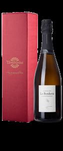 Champagne Cuvée Trois Contrées Brut - Confezione regalo 52 - Champagne La Borderie - 75 cl