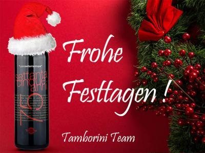 Frohe Festtagen von Tamborini Vini