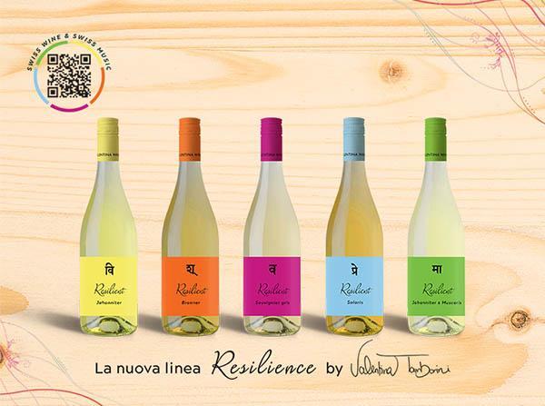 Vino e Musica: la nuova linea Resilience di Valentina Wine Collection
