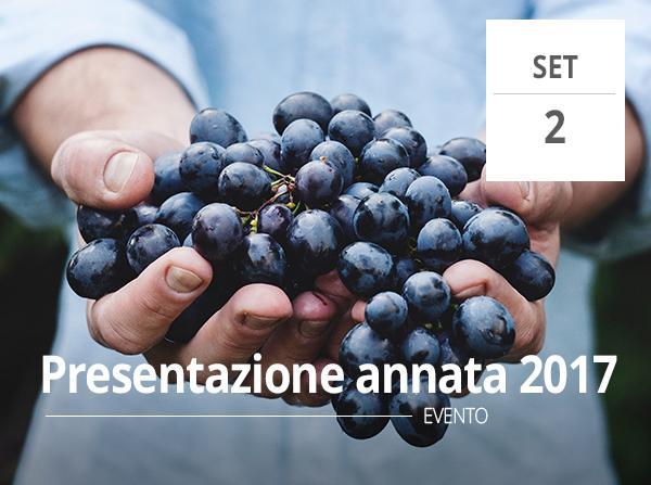 Presentazione dell'annata 2017