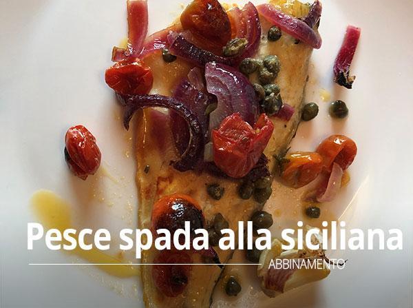 Trancio di pesce spada alla siciliana