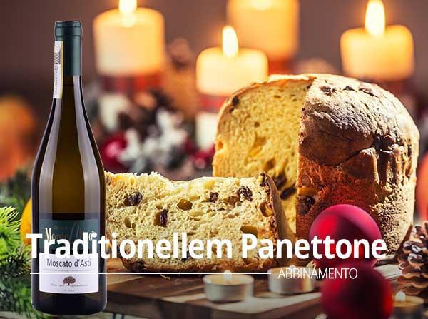 Weihnachtsmenu - traditionellem Panettone